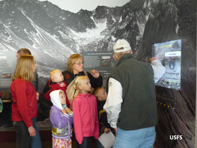 Crater and Dome Exhibit and Videos